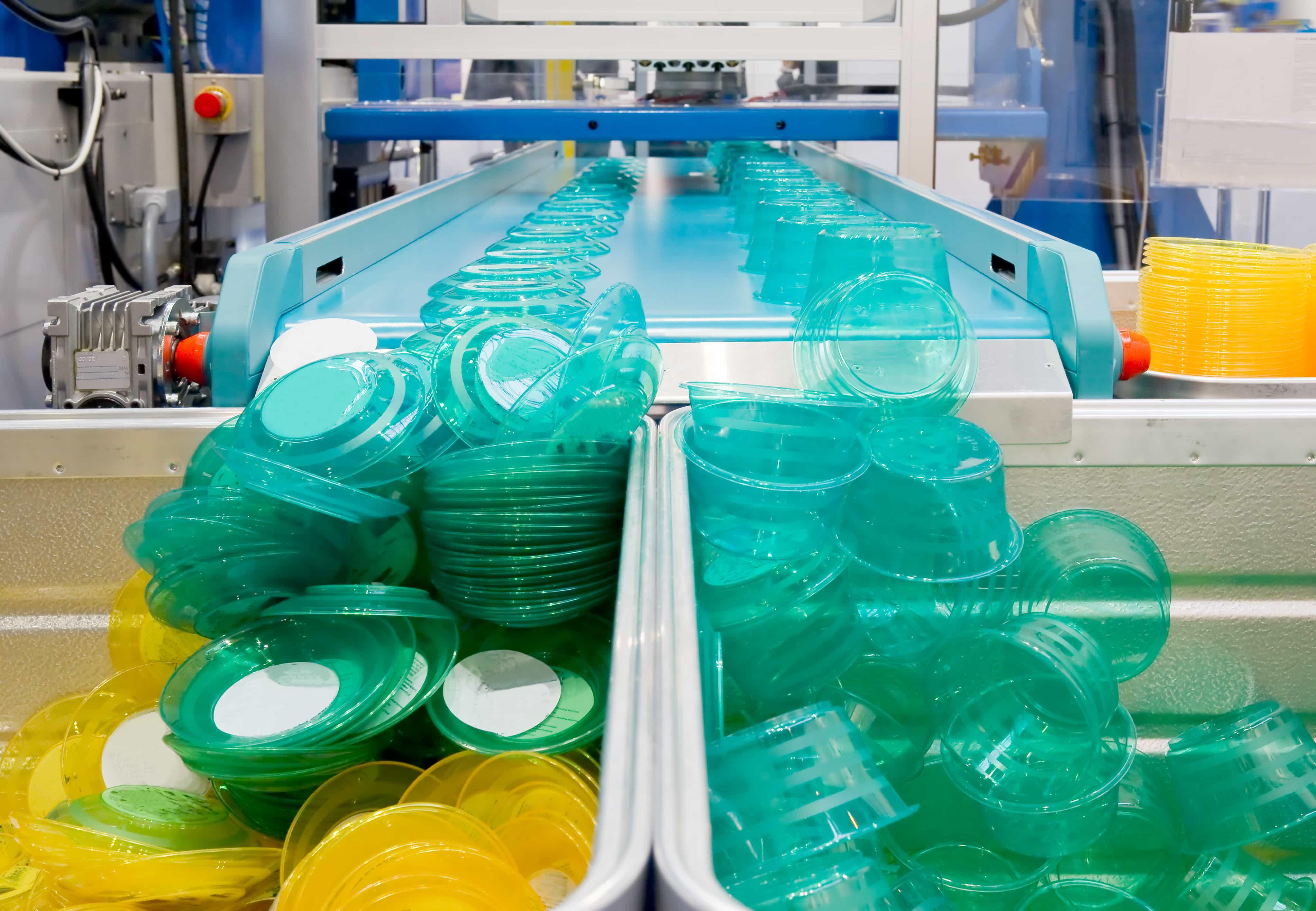 Plastics manufacturing